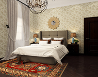 European Master Bedroom