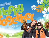 """So Happy Together"" Homecoming 2012 Self Mailer"