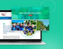 Rouler à vélo | Site Web pour une bonne cause