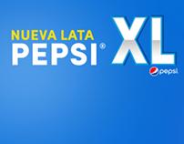 Nueva Lata PepsiXL