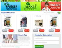 Website Mockup by Imran Rizwan