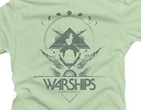 Warships - Logo and Tee-Shirt Design for LA Band