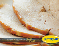Butterball Ready-to-Roast Ad Campaign