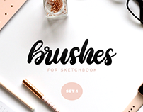 Sketchbook Brushes - 1 - Calligraphy