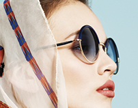 NICKI SPORTS CHIC EYEWEAR FOR THE LENS OF JAVIER LOVERA