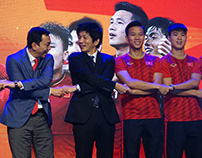 Sony to continue sponsorship for national football team