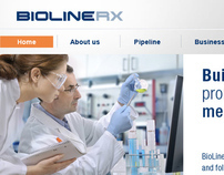 BioLineRx Website Design