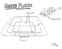 3 Product Concept Sketches (from 2014, Pre-grad school)