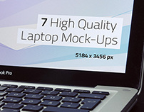 Customizable Laptop Mock-Ups