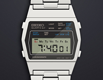 SEIKO watch - Illustration