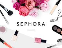 Sephora - Website redesign