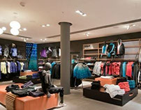 Esprit Sports Shop Concept, Cue-Architekten