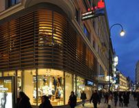 Esprit Store Front Design, Cue-Architekten