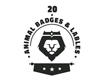 Premium Animal Badges & Labels