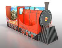 Walkers Money Train - Creative Concept - 3D render