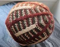 """Burgundy """"Wilson"""" Hat, 100% Cashmere, Unisex."""