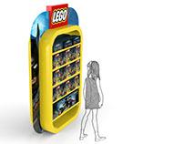 Lego display 3D modelign & rendering