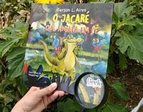 """Children book """"O jacaré que andava em pé''"""