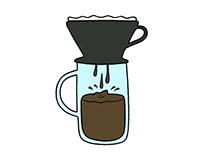 Drip Coffee InfoGraphic