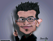 Dr Ismadi Character Caricature