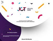 Brand identity www.jakcoto.com