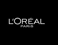 L'Oréal online ads