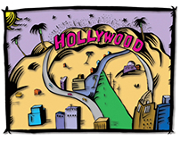 Hollywood illustration