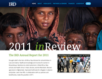 International Relief & Development Annual Report Site
