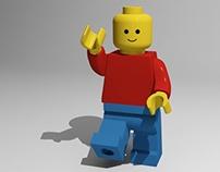 Lego Man | Modelo 3D