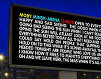 Moby in Minsk