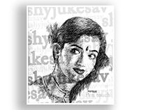 Pencil-Sketch-Kavya