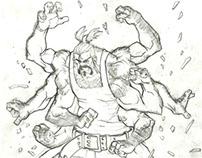 superhero character design