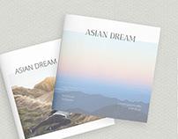 Asian Dream Square Modern Clean Brochure Template