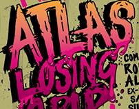 ATLAS LOSING GRIP I poster