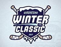 Winter Hockey Classic Branding
