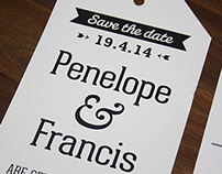 Penelope & Francis Wedding Design