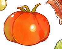 Tomato Recipe Cards