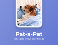 Pets Care iOS Application Concept