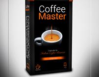Coffee Master Espresso Brand&Identity - Product Label