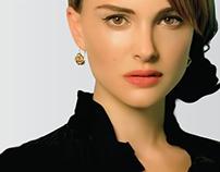 Natalie Portman Digital Illustration
