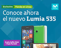 Lanzamiento Lumia 535 - Movistar.co
