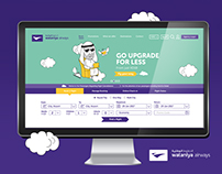 Wataniya Airways Website