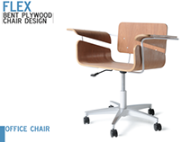 Flex - Bent Plywood Chair Design