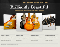 Guitar Web Design/CSS build