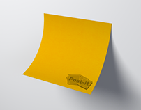 Media project : Super sticky post-it