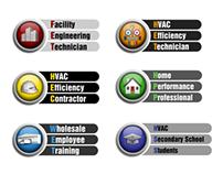 HVACRedu education program logos