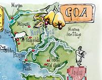 ASIA Maps-India,Jerusalem,UAE,Vietnam,Maldives isl