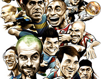 Football Caricatures and Illustrations