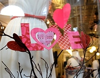 Valentine's Day Window Display
