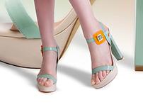 campaign La Strada shoes